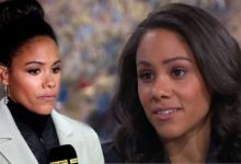Alex Scott furiously hits out at claims her television success is 'a box-ticking exercise'