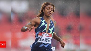 American sprinter Richardson suspended for one month after testing positive for cannabis | More sports News - Times of India