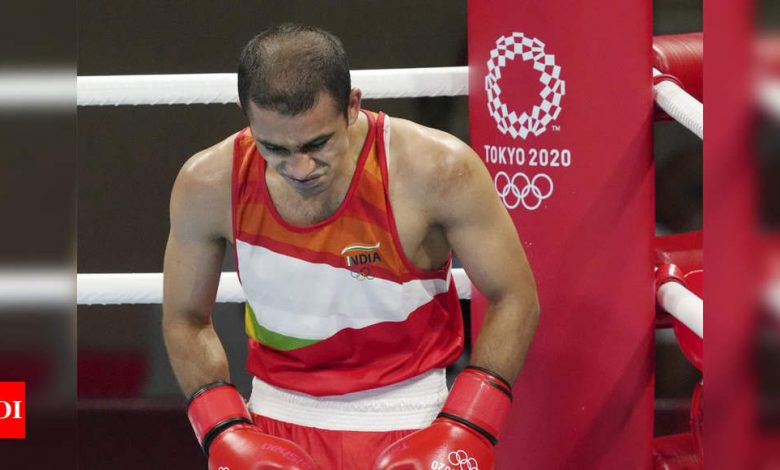 Amit Panghal's Olympic disappointment, coaches dissect what went wrong | Tokyo Olympics News - Times of India