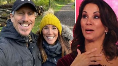 Andrea McLean: Loose Women star went home with husband hours after meeting on blind date