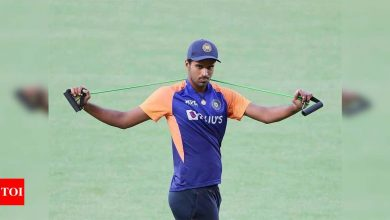 Another blow for Team India: Washington joins Avesh, ruled out of England series   Cricket News - Times of India