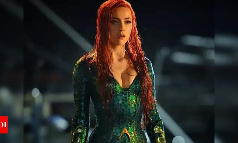 'Aquaman 2' producer opens about not removing Amber Heard from film - Times of India