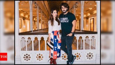 Arjun Kapoor's UNSEEN picture with girlfriend Malaika Arora from his birthday bash goes viral on the internet - Times of India