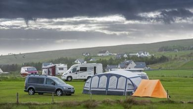 As campsites across the UK book up - Britons can now pitch up in people's back gardens
