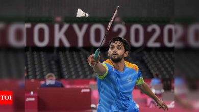 B Sai Praneeth loses opening match on Olympic debut   Tokyo Olympics News - Times of India
