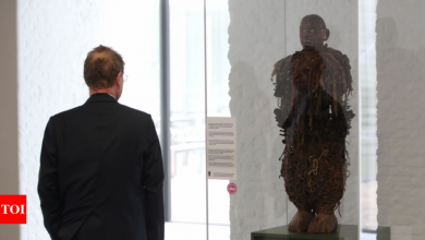 Belgium begins long road to returning looted Congolese art works - Times of India