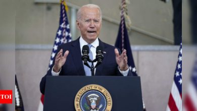 Biden pushes for voting rights law amid Republican opposition - Times of India