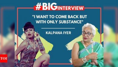 """#BigInterview: Kalpana Iyer On Her Disappearance Of 20 years: """"I want to come back but with only substance"""" - Times of India"""
