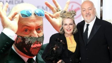 Bill Bailey makes rare appearance with wife at National Film Awards following Strictly win