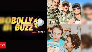 Bolly Buzz: Aamir Khan's team accused of littering in Ladakh, Taapsee Pannu celebrates boyfriend Mathias Boe's birthday - Times of India