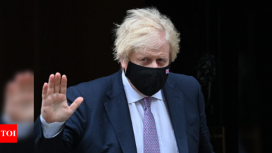 Boris Johnson: Britain has withdrawn nearly all its troops from Afghanistan | World News - Times of India
