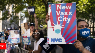 Broadway Vaccine Requirement: Broadway to require vaccinations, masks for audience members | World News - Times of India