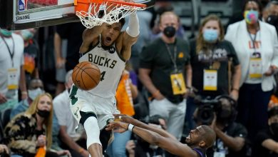 Bucks hold off Suns in Game 5 thriller to move win from NBA title