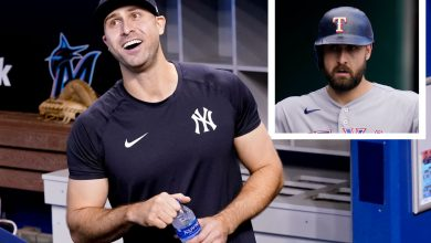 Clean-shaven Joey Gallo gets Alex Rodriguez's old Yankees number