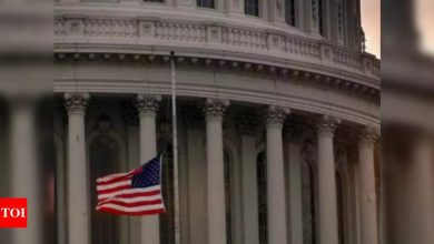 Congress passes bill to fund Capitol security, Afghan visas - Times of India