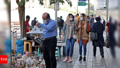 Covid-19: Iran hits new record for second straight day - Times of India
