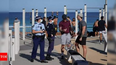 Covid-19: Sydney lockdown extended by four weeks as Delta surge worsens - Times of India