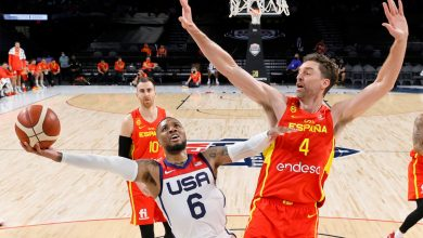 Damian Lillard helps carry Team USA in Olympic tune-up