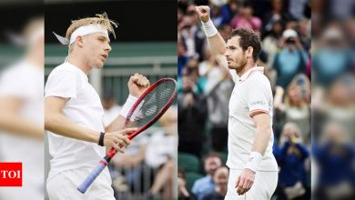 Denis Shapovalov seeks taste of Centre Court against battle-scarred idol Andy Murray | Tennis News - Times of India