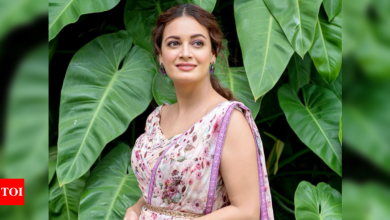 Dia Mirza warns against sharing fake news online - Times of India
