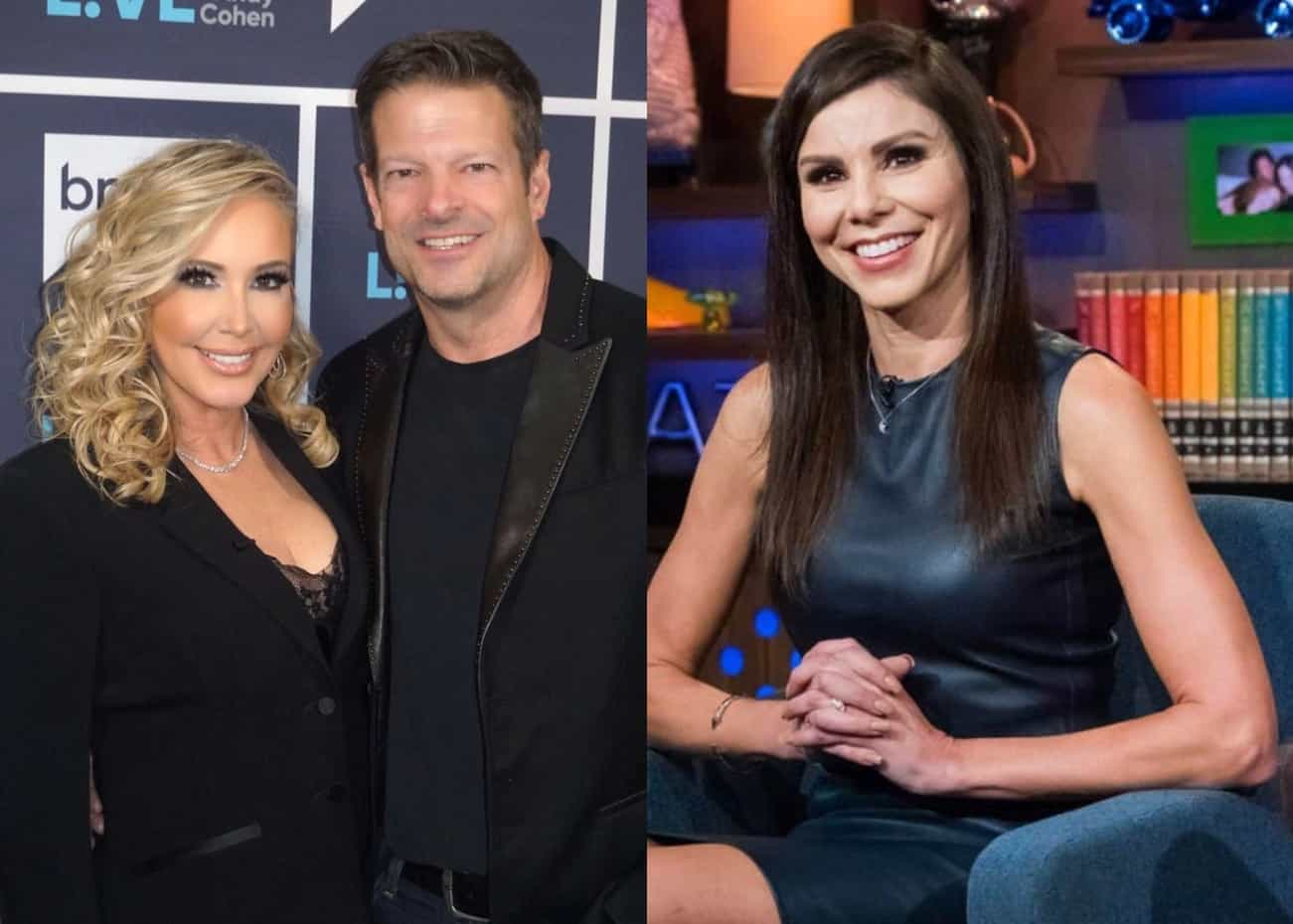 Shannon Beador's Boyfriend John Janssen Reacts to Rumors of an on-Camera Fight Between Shannon and Heather Dubrow Amid Filming on RHOC Season 16