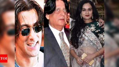 Did you know that Salman Khan's 'Tere Naam' hairstyle has a Padmini Kolhapure connection?- Exclusive - Times of India