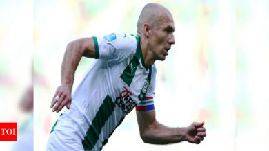 Dutch great Arjen Robben retires from football | Football News - Times of India