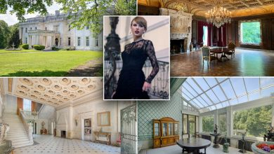 Fairy tale mansion featured in Taylor Swift's 'Blank Space'  up for auction
