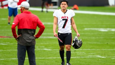 Falcons kicker Younghoe Koo just wants his cleats back after Jeep gets stolen