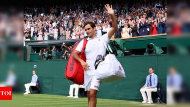 Federer withdraws from Tokyo Games with knee injury   Tokyo Olympics News - Times of India