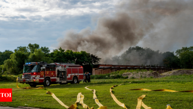 Fire in Chicago: Evacuations extended near northern Illinois industrial fire   World News - Times of India
