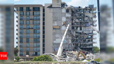 Florida Condo Collapse: Collapsed Florida condo building likely to be demolished   World News - Times of India