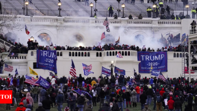 Florida group charged with attack on police during US Capitol riot - Times of India