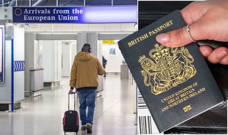 Foreign Office warns Brits to 'make sure' passports meet new rules after travel 'carnage'