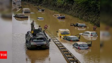 German, Belgian flood deaths rise to 157 as search continues - Times of India