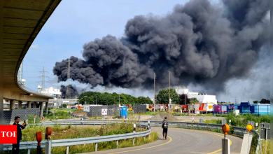 Germany Explosion: 1 person dead, 4 still missing in German chemical explosion, Leverkusen   World News - Times of India