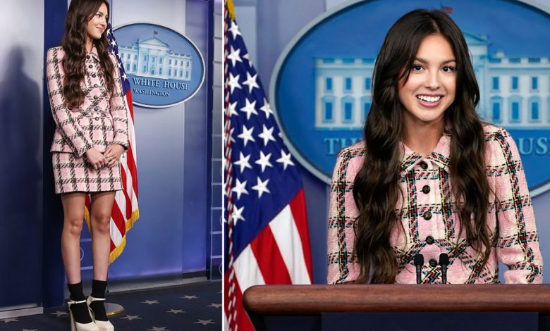 Get Olivia Rodrigo's White House look for less: Tweed, pumps and more