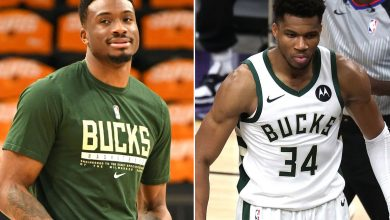 Giannis Antetokounmpo battles cramps after win on day brother put on COVID-19 list