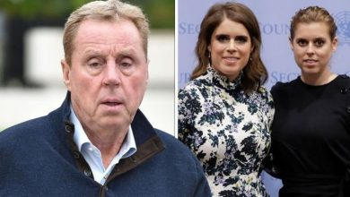 Harry Redknapp can't tell Princess Beatrice and Eugenie 'apart' after not recognising them