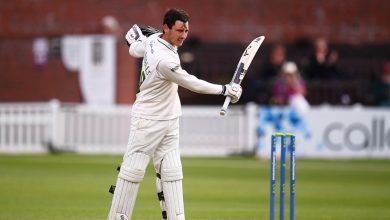 Harry Swindells' 119* steers Leicestershire towards draw against depleted Somerset