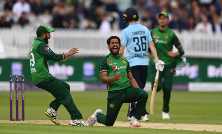 Hasan Ali's throwback five-for in vain as batting sinks Pakistan once more