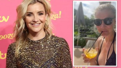 Helen Skelton posts eye-popping bikini pic after hitting back at harsh outfit criticism