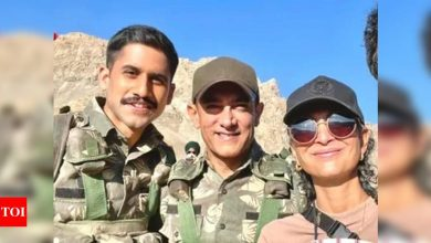 Here's why Aamir Khan and ex-wife Kiran Rao visited Kargil - Times of India