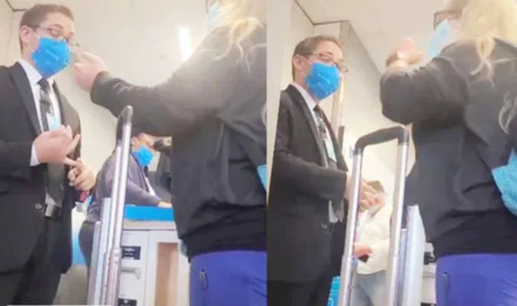 'I'd suggest Spirit'- Passenger gets kicked off plane after insulting crew over face mask