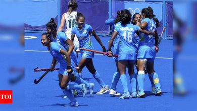 Indian women's hockey team reach Olympic quarter-finals after 41 years | Tokyo Olympics News - Times of India