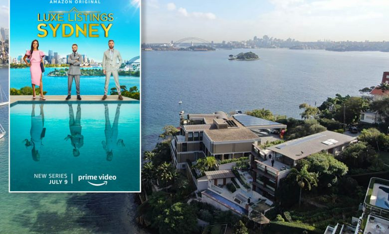 Inside the Aussie mansions of Amazon Prime's 'Luxe Listings Sydney'