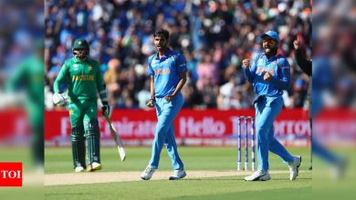 It's always pressure match against Pakistan but not thinking about it now: Bhuvneshwar Kumar on T20 World Cup clash | Cricket News - Times of India