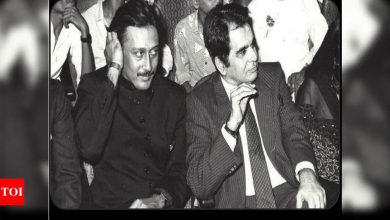 Jackie Shroff on Dilip Kumar's demise: Blessed to have shared screen space with the legend - Times of India