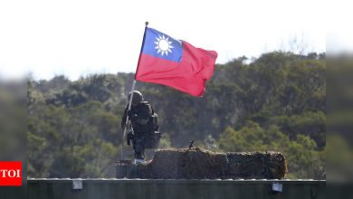 Japan's gov't sees Taiwan tensions as regional security risk - Times of India