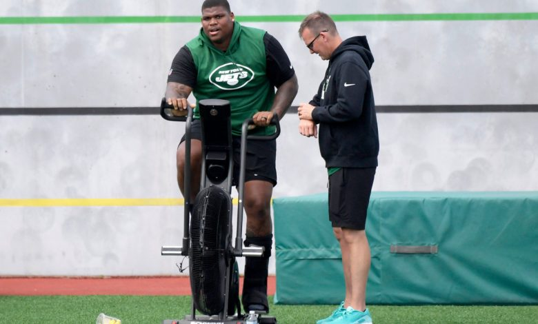 Jets 'still not concerned' about Quinnen Williams' recovery